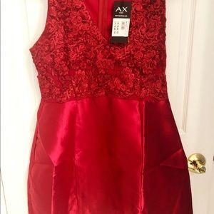 BN Cute mini red dress Sz 10